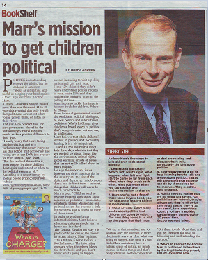 Marr's Mission to Get Children Political