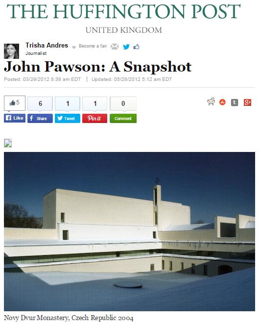 John Pawson: A Snapshot