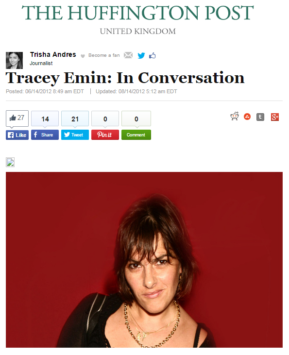 Tracey Emin: In Conversation