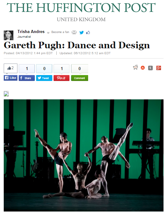 Gareth Pugh: Dance and Design