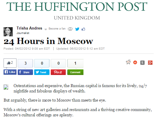 24 Hours in Moscow