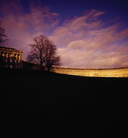 Royal Crescent at Dusk