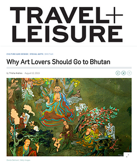 Why Art Lovers Should Go to Bhutan