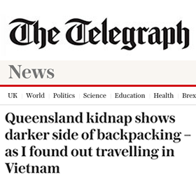 Queensland kidnap shows darker side of backpacking – as I found out travelling in Vietnam