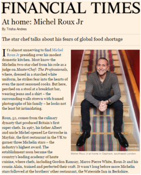 At Home: Michel Roux Jr