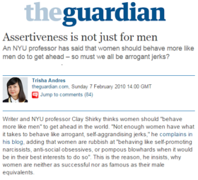 Assertiveness is Not Just For Men