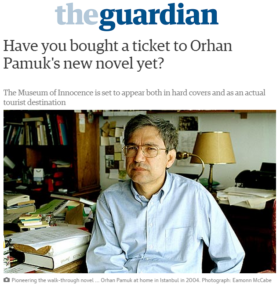 Have You Bought a Ticket to Orhan Pamuk's New Novel Yet?
