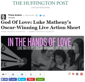 God Of Love: Luke Matheny's Oscar-Winning Live Action Short