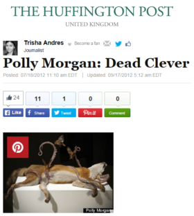 Polly Morgan: Dead Clever