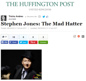 Stephen Jones: The Mad Hatter