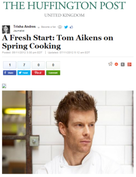 A Fresh Start: Tom Aikens on Spring Cooking