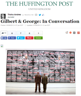 Gilbert & George: In Conversation